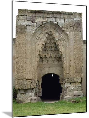 Turkey. Aksaray Province. Sultanhan? Caravanserai. Built at 13th Century. Seljuq Style. Portal--Mounted Photographic Print