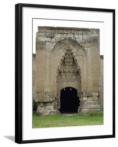 Turkey. Aksaray Province. Sultanhan? Caravanserai. Built at 13th Century. Seljuq Style. Portal--Framed Art Print