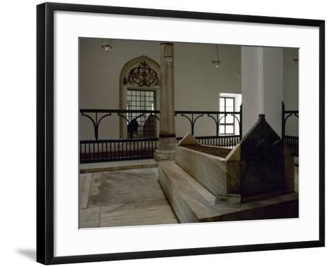 Turkey. Bursa. Muradiye Complex. Mausoleum of Sultan Murad II (1404-14519. 1451. Ottoman Style--Framed Art Print