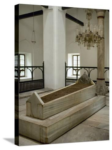Turkey. Bursa. Muradiye Complex. Mausoleum of Sultan Murad II (1404-14519. 1451. Ottoman Style--Stretched Canvas Print