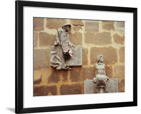 Chapel of St. Mary of Good Success. 16th-17th Centuries. Reliefs. Navarrete. Spain--Framed Art Print