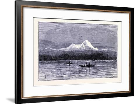 Mount Rainier United States of America--Framed Art Print
