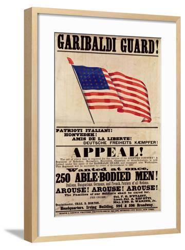 Garibaldi Guard! Appeal!--Framed Art Print