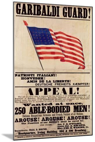 Garibaldi Guard! Appeal!--Mounted Giclee Print
