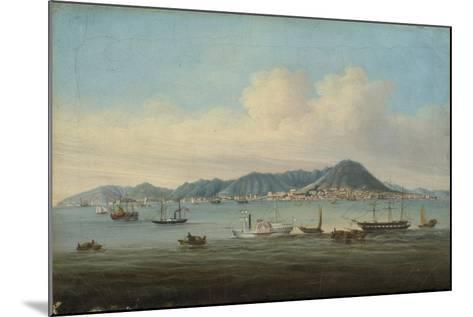 View of Hong Kong, 1850--Mounted Giclee Print