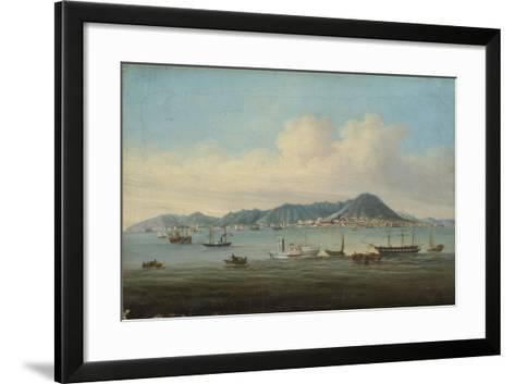 View of Hong Kong, 1850--Framed Art Print