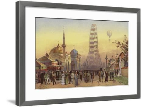 Along the Plaisance--Framed Art Print