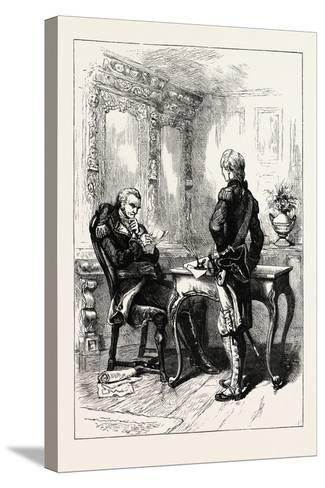 Lafayette and Washington, USA, 1870s--Stretched Canvas Print