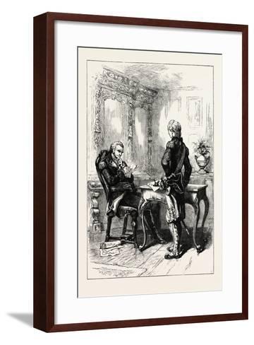 Lafayette and Washington, USA, 1870s--Framed Art Print