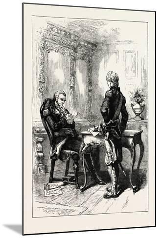 Lafayette and Washington, USA, 1870s--Mounted Giclee Print