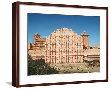 Hawa Mahal (Palace of the Winds) Built in 1799 (See also 121219 and 208425)--Framed Art Print