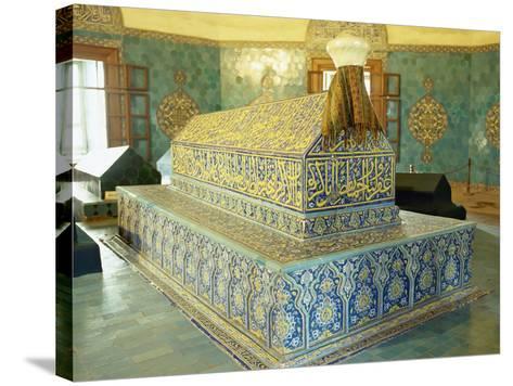 Turkey. Bursa. Yesil Turbe. Mausoleum of Mehmed I. Ottoman Style. 15th Century--Stretched Canvas Print