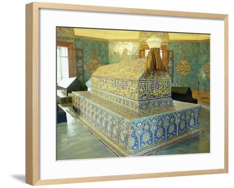 Turkey. Bursa. Yesil Turbe. Mausoleum of Mehmed I. Ottoman Style. 15th Century--Framed Art Print
