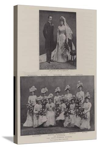 The Crewe-Primrose Wedding--Stretched Canvas Print