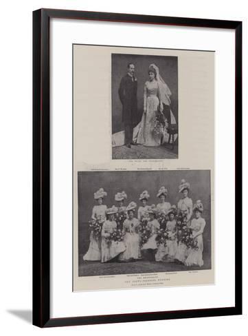 The Crewe-Primrose Wedding--Framed Art Print