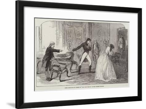 Scene from the New Drama of Plot and Passion, at the Olympic Theatre--Framed Art Print