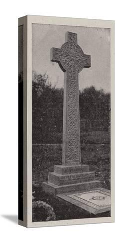 The Grave of Sir Frank Lockwood--Stretched Canvas Print