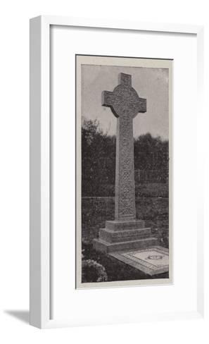 The Grave of Sir Frank Lockwood--Framed Art Print