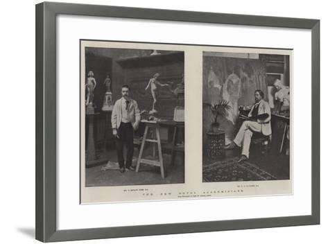 The New Royal Academicians--Framed Art Print