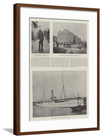 The Mobilisation at Southampton--Framed Art Print