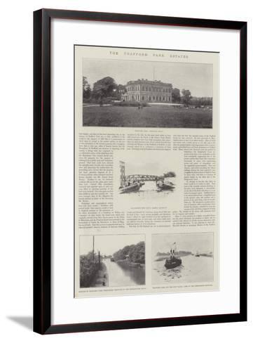The Trafford Park Estates--Framed Art Print