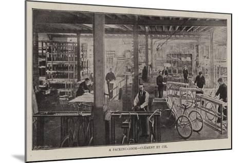 A Packing-Room, Clement Et Cie--Mounted Giclee Print