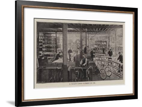 A Packing-Room, Clement Et Cie--Framed Art Print