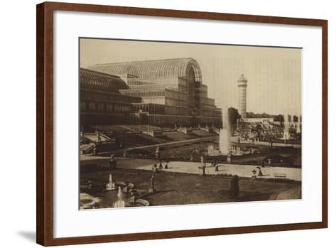 The Fountains--Framed Art Print