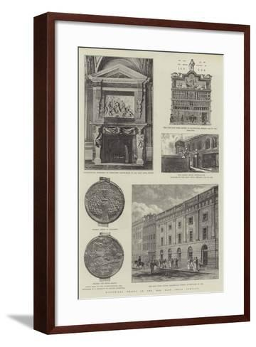 Historical Relics of the Old East India Company--Framed Art Print