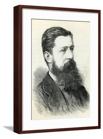 Alfred Pizzey Newton (1830-83) from the 'Illustrated London News' 1883--Framed Art Print