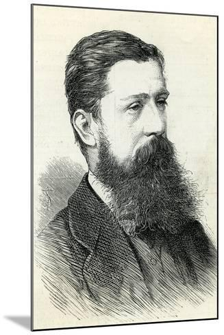 Alfred Pizzey Newton (1830-83) from the 'Illustrated London News' 1883--Mounted Giclee Print