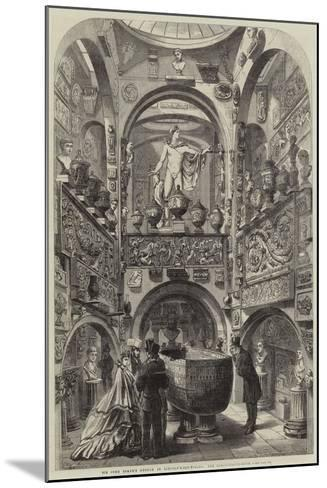Sir John Soane's Museum in Lincoln'S-Inn-Fields, the Sarcophagus-Room--Mounted Giclee Print