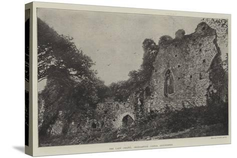 The Lady Chapel, Okehampton Castle, Devonshire--Stretched Canvas Print