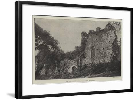 The Lady Chapel, Okehampton Castle, Devonshire--Framed Art Print