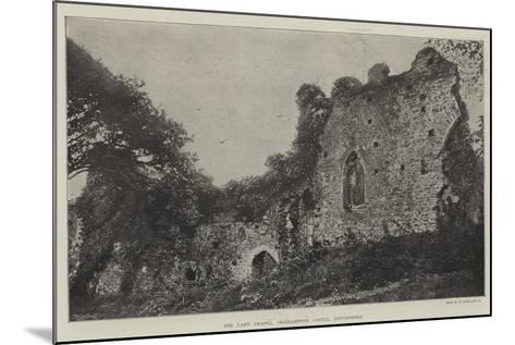 The Lady Chapel, Okehampton Castle, Devonshire--Mounted Giclee Print