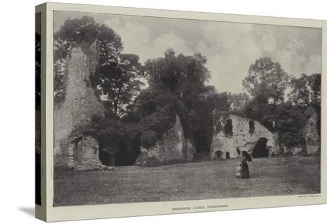 Sherborne Castle, Dorsetshire--Stretched Canvas Print