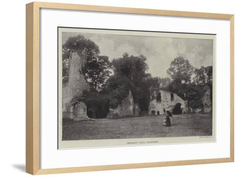 Sherborne Castle, Dorsetshire--Framed Art Print