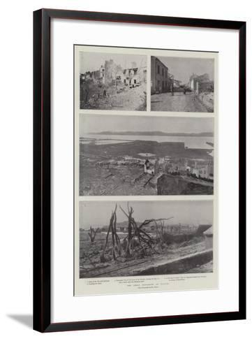 The Great Explosion at Toulon--Framed Art Print