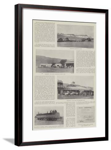 Scenes of the Second Boer War--Framed Art Print