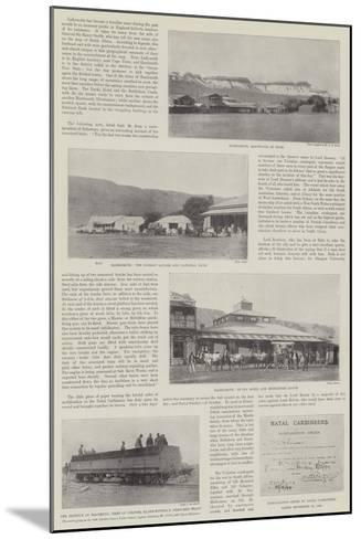 Scenes of the Second Boer War--Mounted Giclee Print