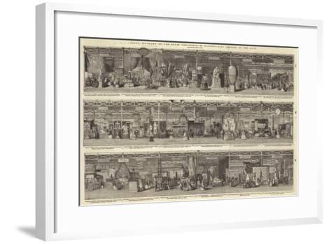 Grand Panorama of the Great Exhibition, North-East Portion of the Nave--Framed Art Print