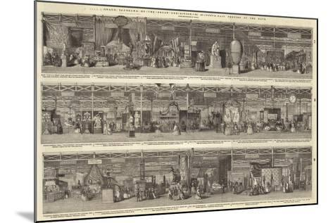 Grand Panorama of the Great Exhibition, North-East Portion of the Nave--Mounted Giclee Print