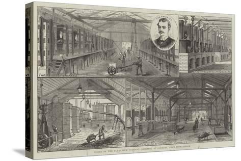 Works of the Aluminium Company (Limited), at Oldbury, Near Birmingham--Stretched Canvas Print