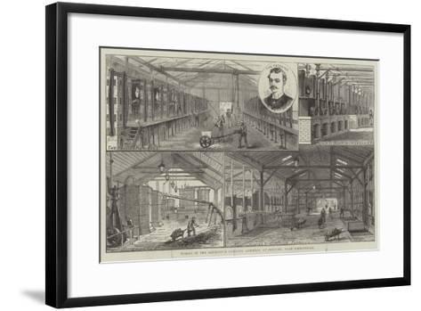 Works of the Aluminium Company (Limited), at Oldbury, Near Birmingham--Framed Art Print
