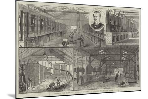 Works of the Aluminium Company (Limited), at Oldbury, Near Birmingham--Mounted Giclee Print