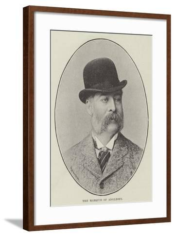 The Marquis of Anglesey--Framed Art Print