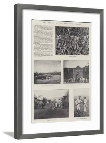 The Revolt in the Philippine Islands--Framed Art Print