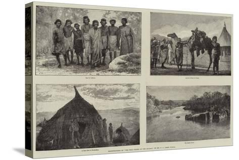 Illustrations of The Wild Tribes of the Soudan, by Mr F L James, Frgs--Stretched Canvas Print