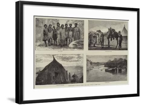 Illustrations of The Wild Tribes of the Soudan, by Mr F L James, Frgs--Framed Art Print