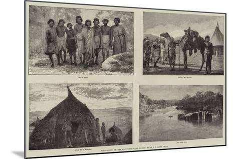 Illustrations of The Wild Tribes of the Soudan, by Mr F L James, Frgs--Mounted Giclee Print
